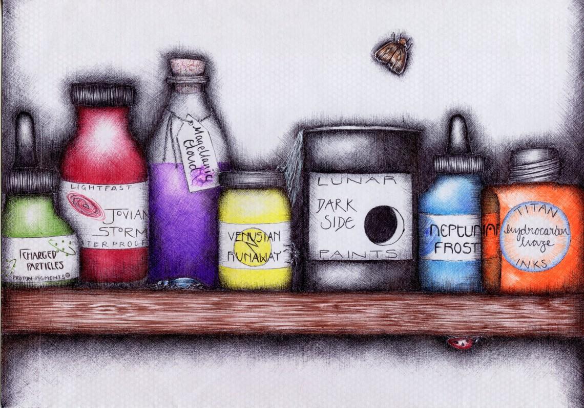 holly-holt-art-creative-scientist-ink-bottles-ballpoint-pen-drawing002