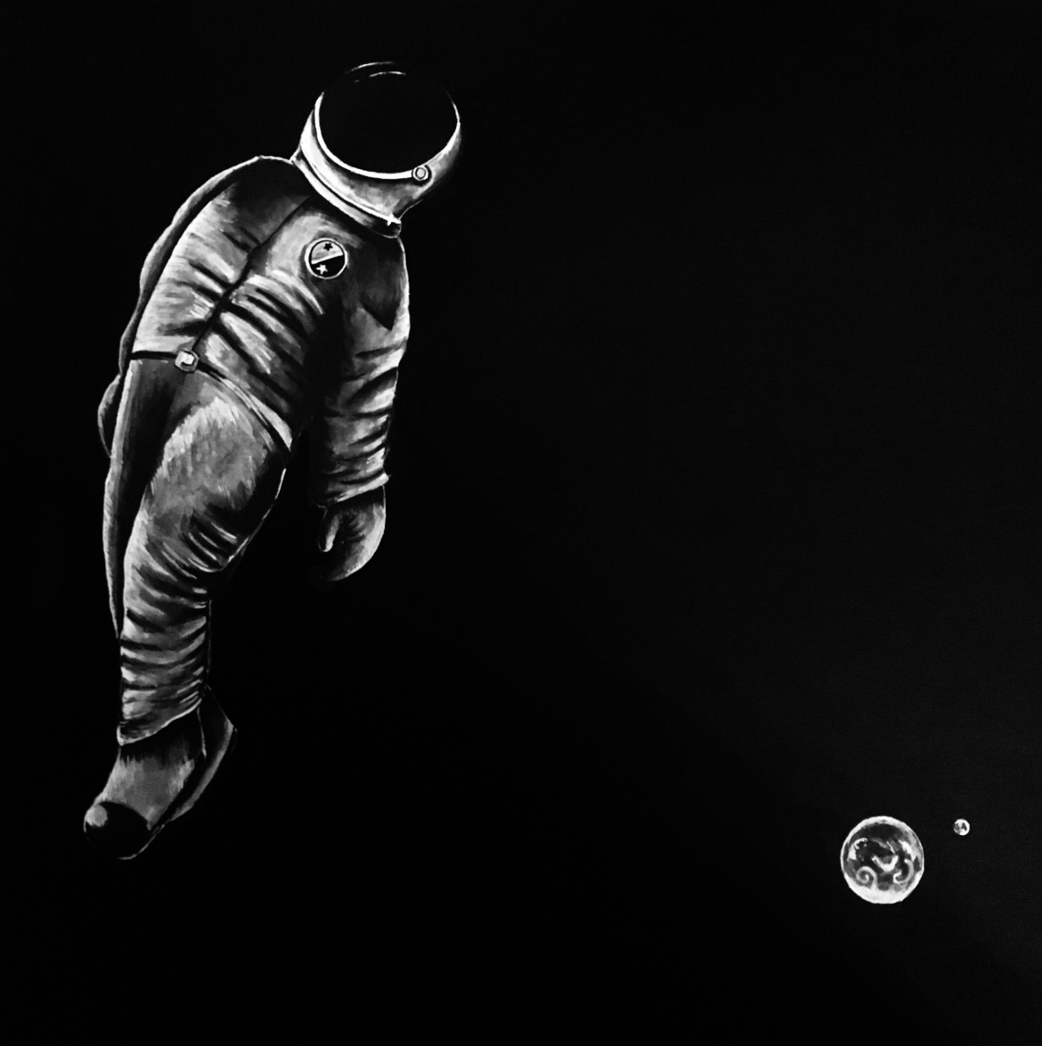 holly-holt-art-call-of-the-void-astronaut-ink-drawing
